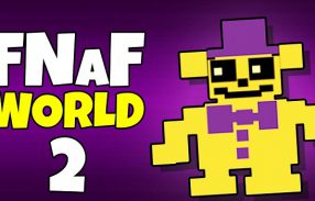 FNaF World Halloween Edition by Scott Cawtoon - Five Nights Games