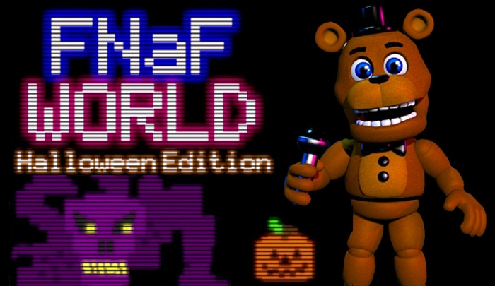 Five Nights At Freddy's World (Halloween-Edition)