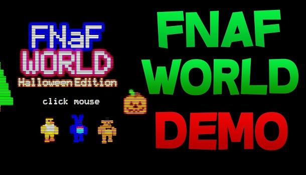 FNaF World Halloween Edition by Scott Cawtoon - Five Nights Games