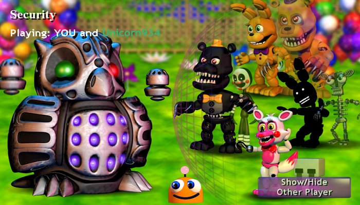 FNaF World – Multiplayer Edition ALPHA 4 [OLD]