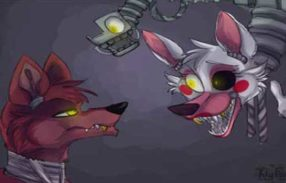 Wallpapers for Foxy and Mangle